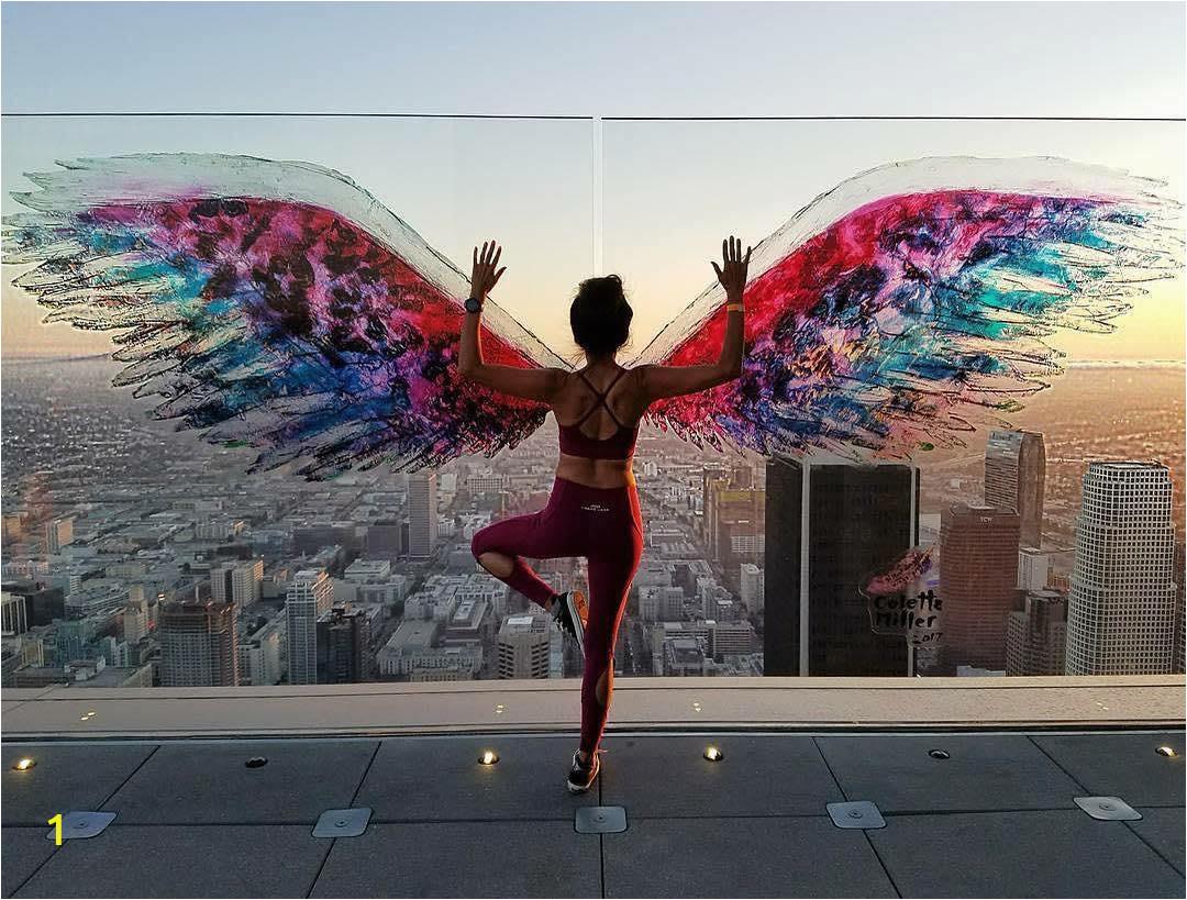Angel Wings Wall Mural Los Angeles Los Angeles Die Einzige Stadt Der Welt Einfach Alles