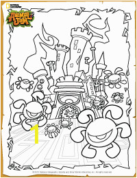 Animal Crossing Coloring Pages Animal Jam Phantom fortress Coloring Page