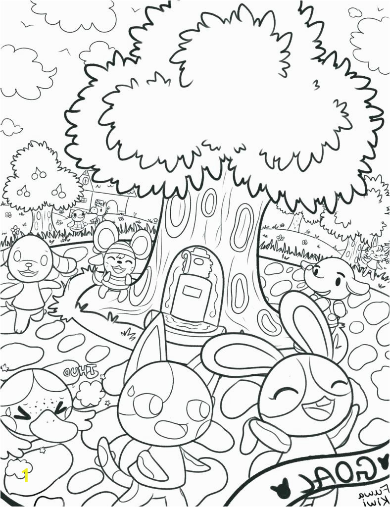 animal crossing new leaf coloring pages collection i