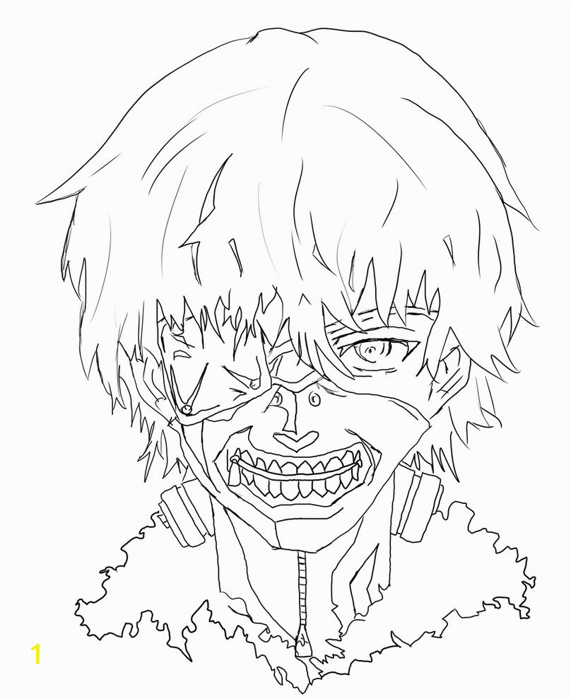 Anime Coloring Pages tokyo Ghoul Anime Manga tokyo Ghoul Coloring Pages Printable Diglee