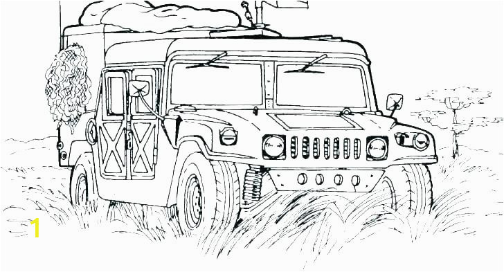 coloring pages of trucks semi truck army vehicle colouring fire