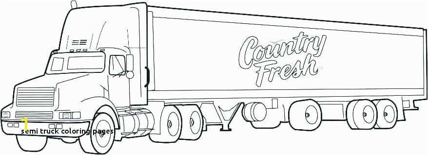 construction trucks coloring pages new big truck rig dump bi and trains