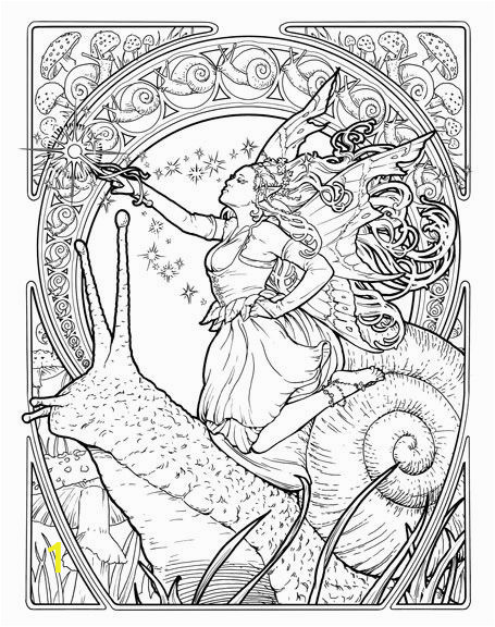 Art Nouveau Coloring Pages Art Deco Coloring Book Google Search
