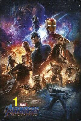 Avengers Endgame Wall Mural the Avengers Endgame Marvel Poster Print 36x24in