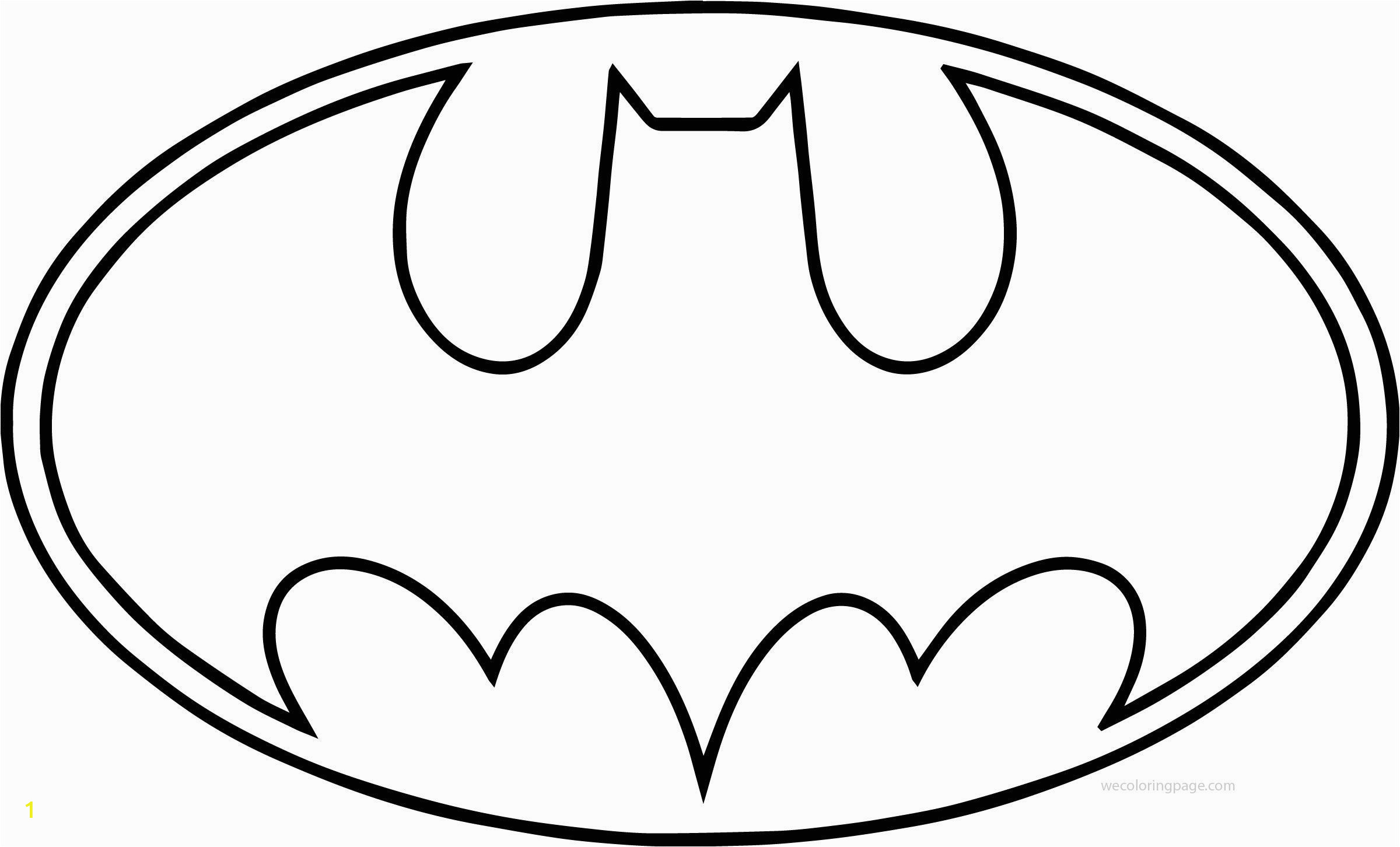 Avengers Symbol Coloring Page Batman Logo Coloring Pages and Superhero