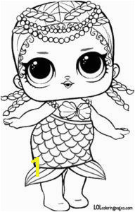 Baby Cat Lol Doll Coloring Page Merbaby Surprise Doll Coloring Sheet