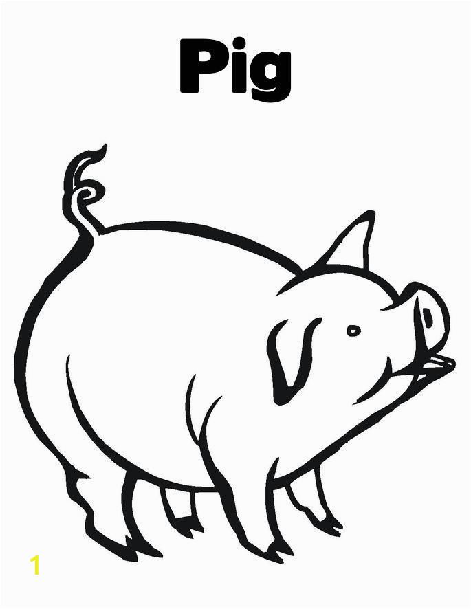 Baby Pig Coloring Pages Free Printable Pig Coloring Pages for Kids