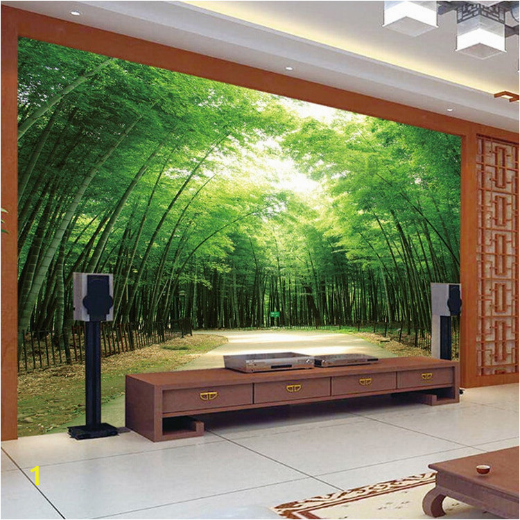 Hot Selling bamboo design 3d wall murals home decor wallpaper beautiful bamboo design wallpaper