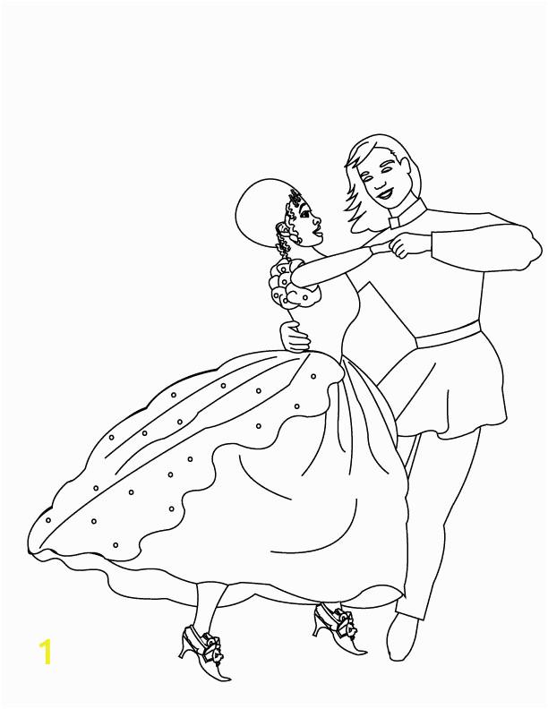 Barbie 12 Dancing Princesses Coloring Pages | divyajanani.org