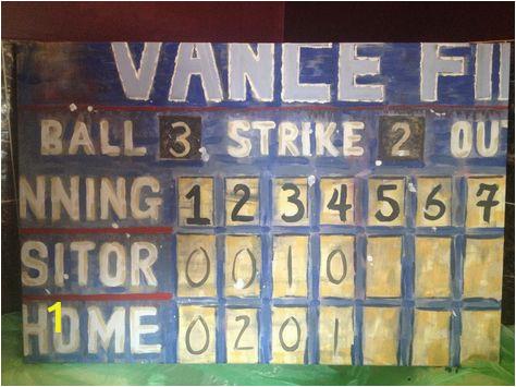 b035b8b1858cbb520d4d8e6df10e7503 baseball scoreboard baseball nursery
