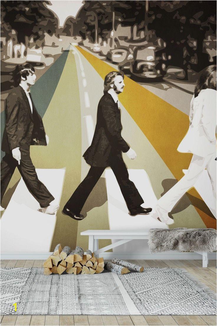 Beatles Abbey Road Wall Mural Abbey Road Wall Mural Wallpaper Music