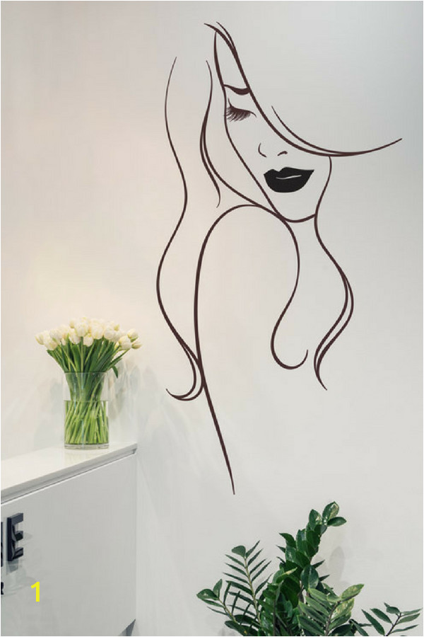 Beauty Salon Wall Murals Beauty Salon Wall Art Decal Sticker