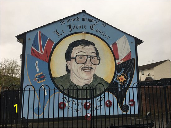 Belfast Wall Murals tour Mural Picture Of Paddy Campbell S Belfast Famous Black Cab