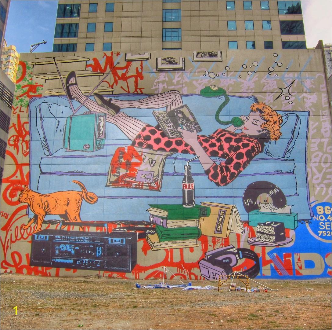 BGC Murals Running 2