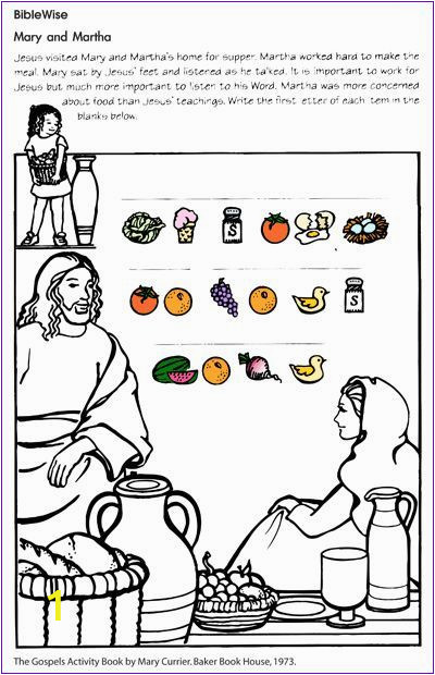 Bible Coloring Pages Mary and Martha Pin by Dawn Martin On Mary N Martha