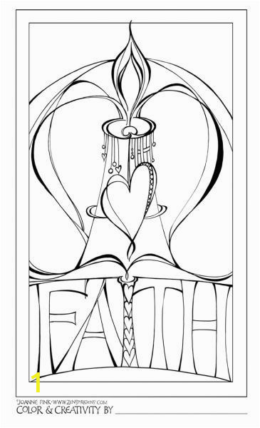 Bible Coloring Pages On Faith and the Winner is