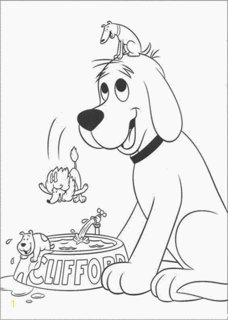 Big Red Barn Coloring Pages Clifford the Big Red Dog Coloring Pages