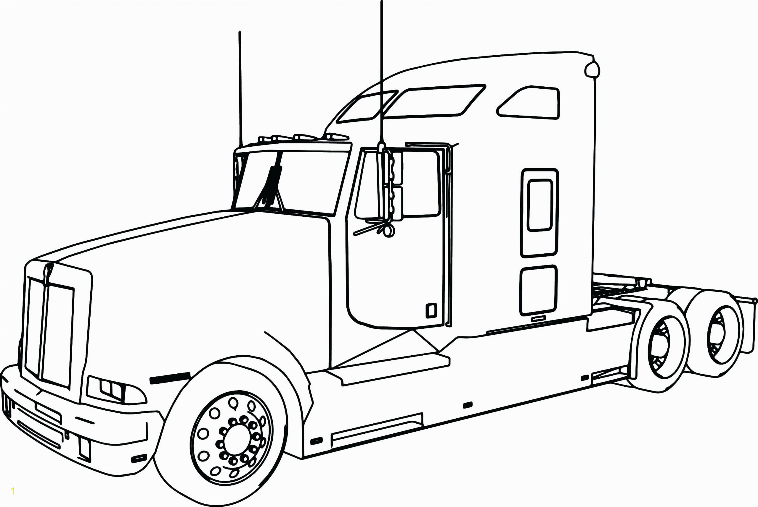 truck coloring pages free long trailer page perfect for colouring construction ebook descargar printable semi trucks codeadventures co of and trailers monster