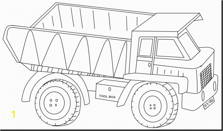 dump truck coloring page expert pages pictures of tractor kenworth trailer rental semi for kids transportation international accident today pages 846x498