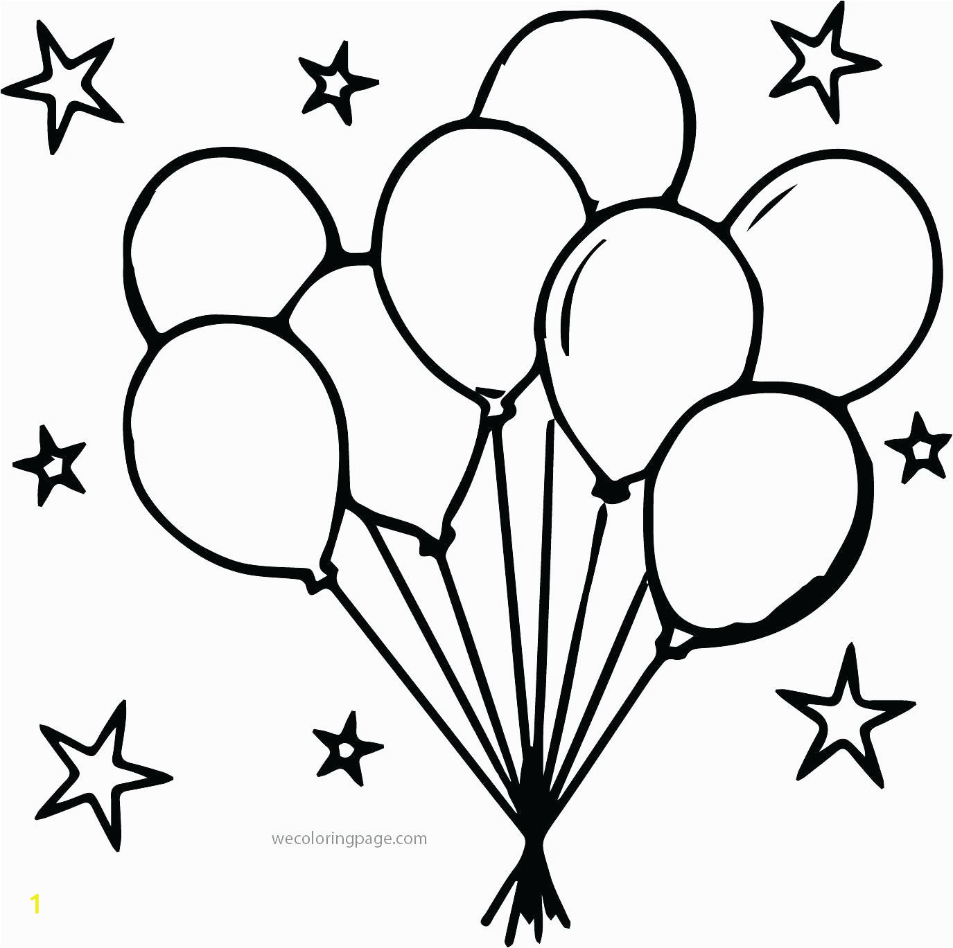 outstanding balloon coloring pages picture ideas happy birthday balloons party print outs