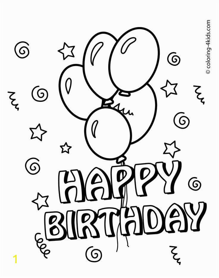 99aa9f8c8fa9ea5ad0fc6be555eedac6 happy birthday coloring pages with balloons for kids coloring 736 934