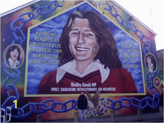 Bobby Sands Wall Mural Bobby Sands Mural Picture Of Cabtoursni Belfast Tripadvisor