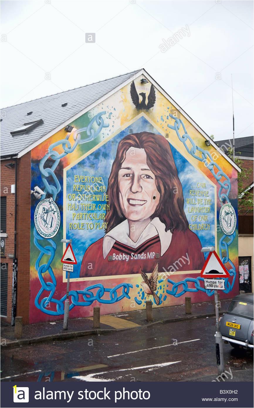 bobby sands memorial mural B3X0H2