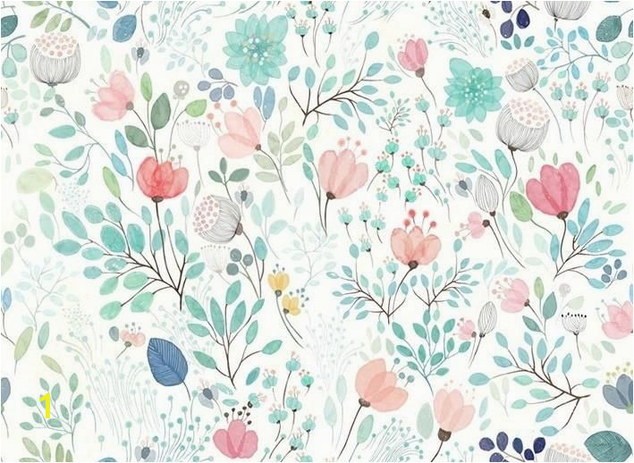 Botanicals Floral Wall Mural Botanicals Floral Wall Mural In 2019