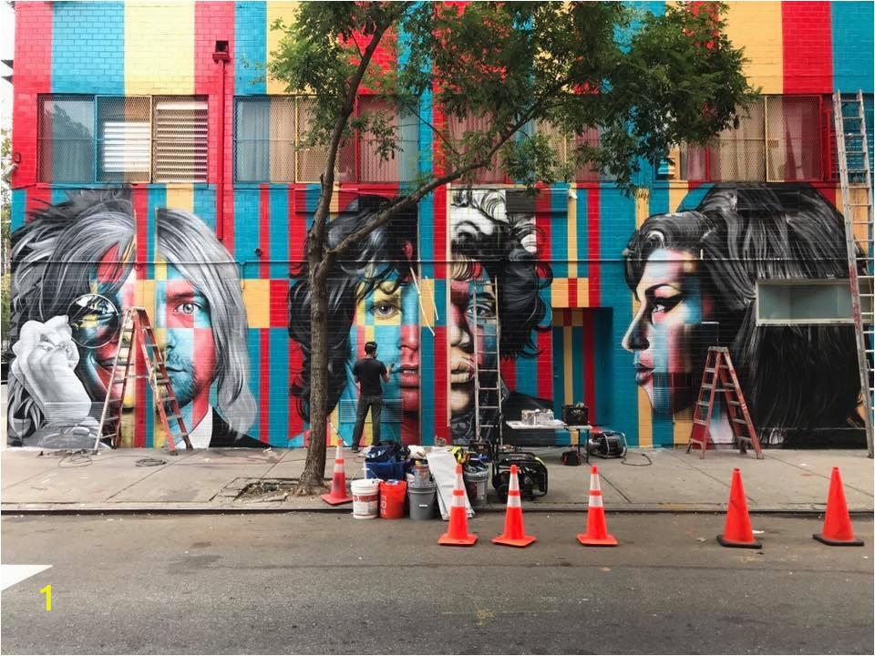 27club mural Rivington