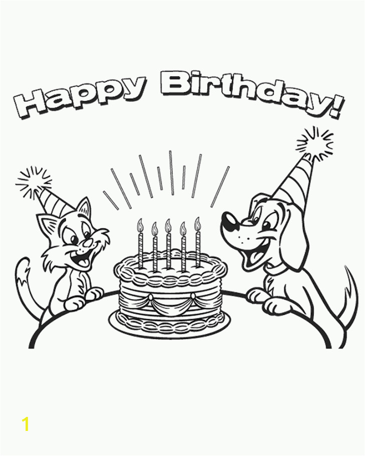 happy birthday coloring pages 19th for kids printable images 728x910