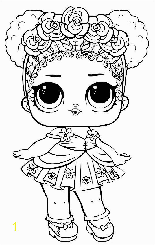 Printable LOL Dolls Coloring Pages