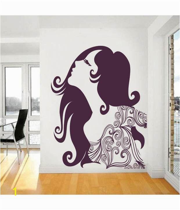 Impression Wall Florel Girl Design SDL 1 81aae