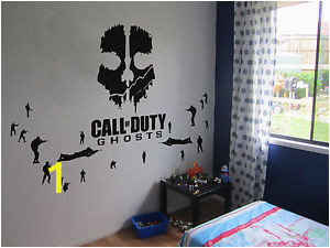 Call Of Duty Wall Murals Details About Call Of Duty Ghosts Wall Art Vinyl now with 20 sol Rs
