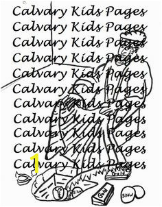 Calvary Chapel Coloring Pages Old Testament 11 Best Calvary Kids Coloring Pages Images