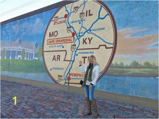 Cape Girardeau Flood Wall Mural River Side Of Flood Wall Picture Of Missouri Wall Of Fame