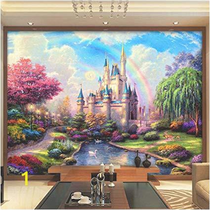 Castle Wall Mural Wallpaper Amazon Dalxsh Custom 3d Mural Bedding Room Tv sofa Wall