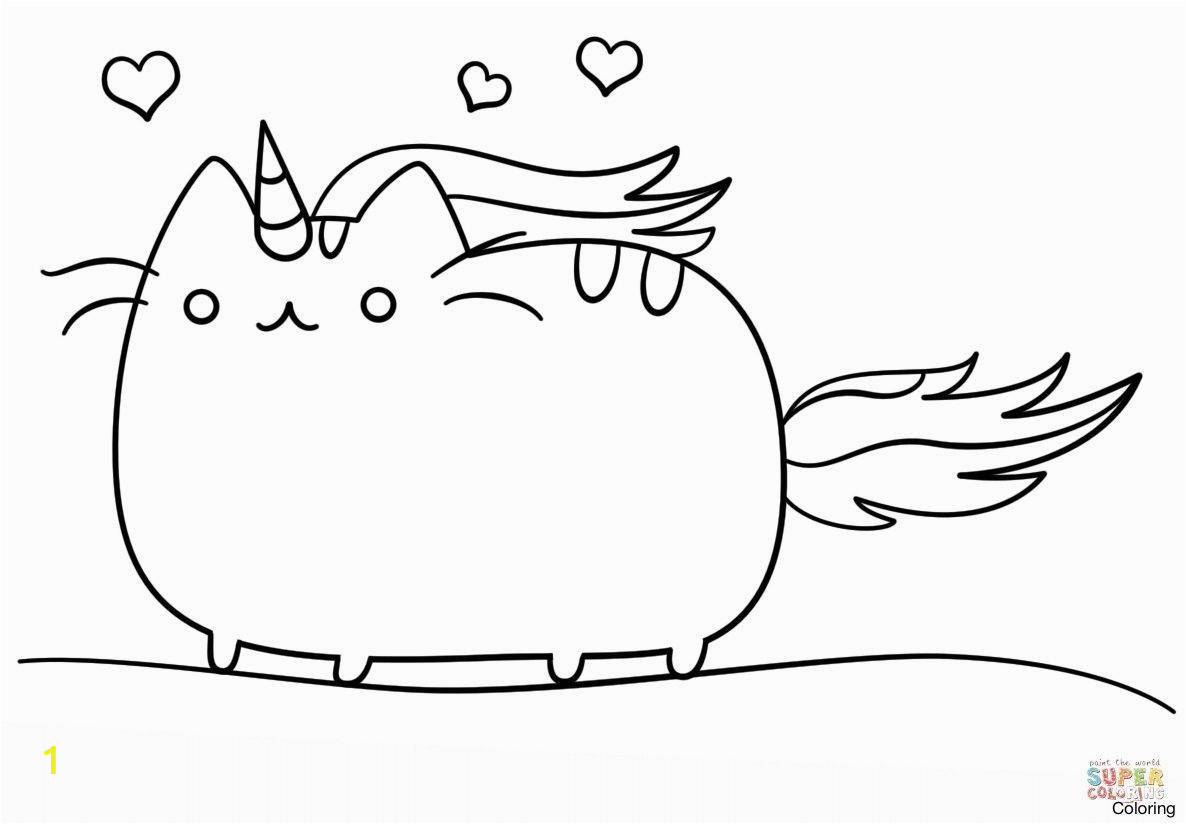 Cat Unicorn Coloring Pages Coloring Pages Unicorn Cat Cat Unicorn Coloring Page Cat