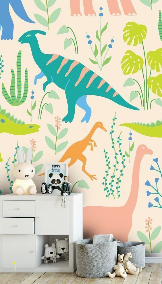 Childrens Wall Mural Decals Dinosaurs In 2019