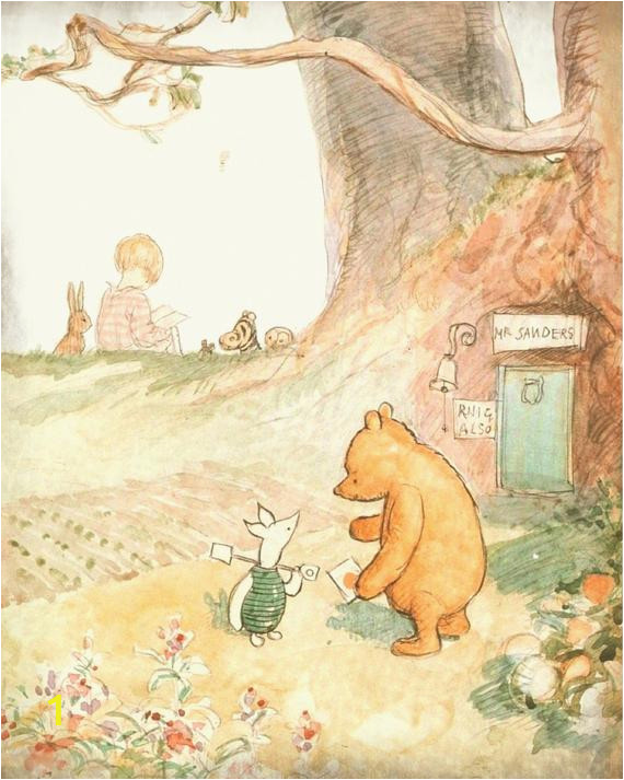 Classic Winnie the Pooh Wall Murals Classic Winnie the Pooh Wall Art Winnie the Pooh Art Print Baby Nursery Art Children S Art 100 Acre Wood Map Classic Pooh Nursery