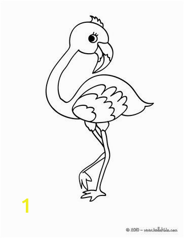 Coloring Page Of Flamingo there is A New Cute Flamingo In Coloring Sheets Section