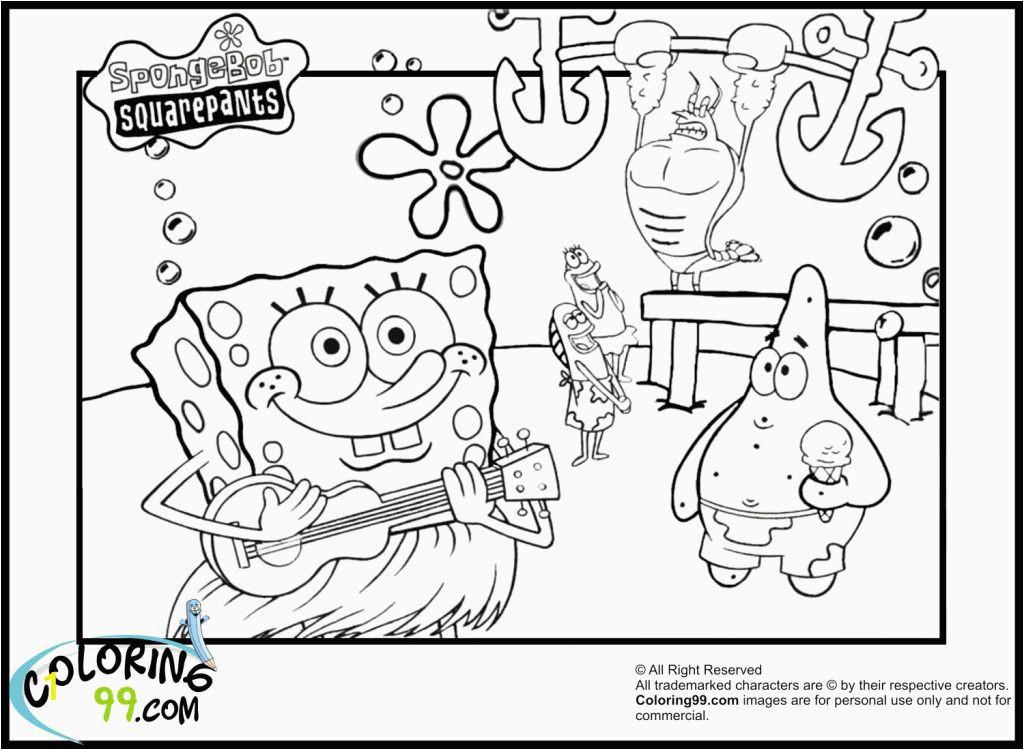 fresh coloring pages spongebob squarepant pdf of coloring pages spongebob squarepant pdf 2