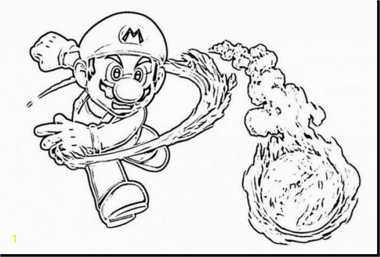 Coloring Pages Of Super Mario Brothers Super Mario Coloring Page Beautiful S Mario Odyssey