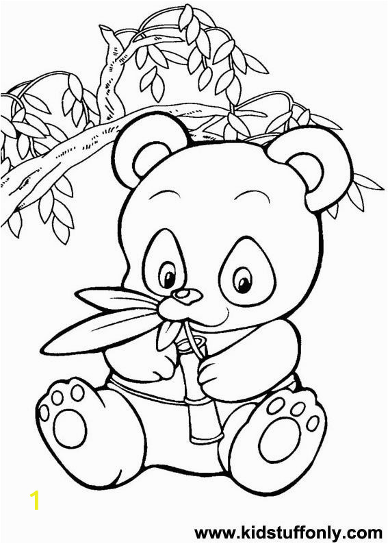 Combo Panda Coloring Page Pics for Panda Bear Coloring Pages