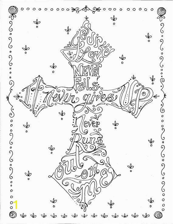 Cross Coloring Pages for Adults Cross Coloring Pages Adult Coloring Panda