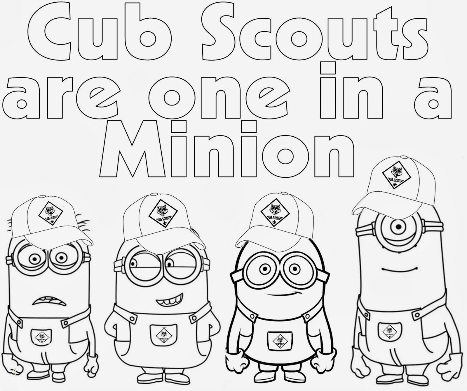 Cub Scout Printable Coloring Pages Pin On Cub Scout Ideas