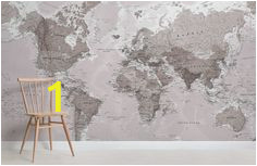 Custom Map Wall Murals by Wallpapered 113 Best Wallpaper Images In 2019