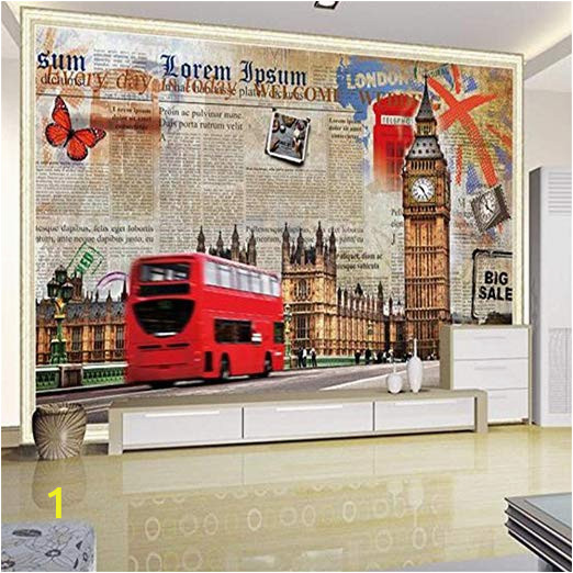 Custom Printed Wall Mural Amazon Murals Custom 4d Wallpaper Building Series Big