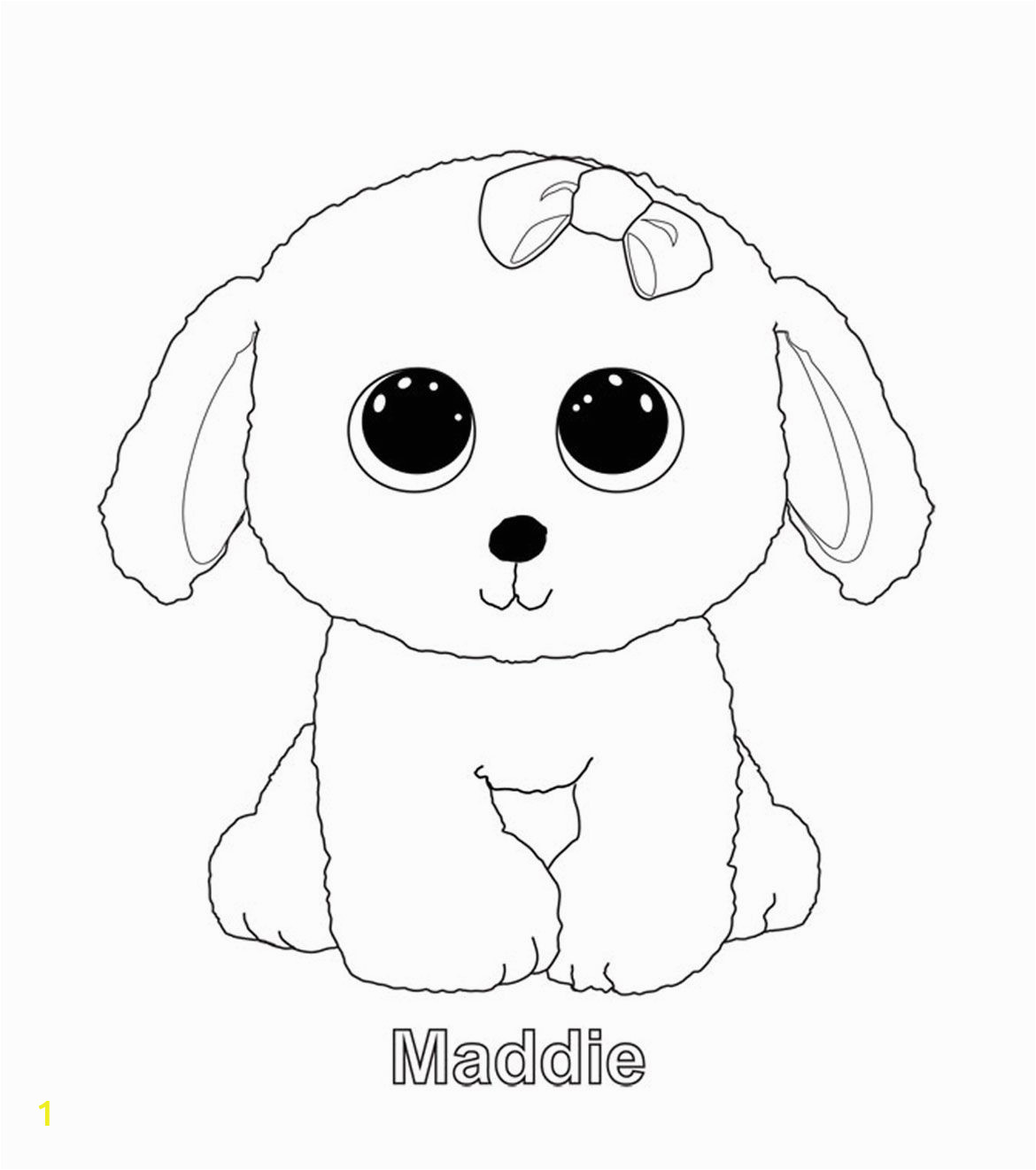Cute Beanie Boos Coloring Pages Mad …