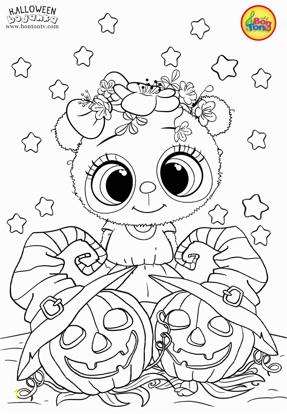 Cute Ghost Coloring Pages Pinterest