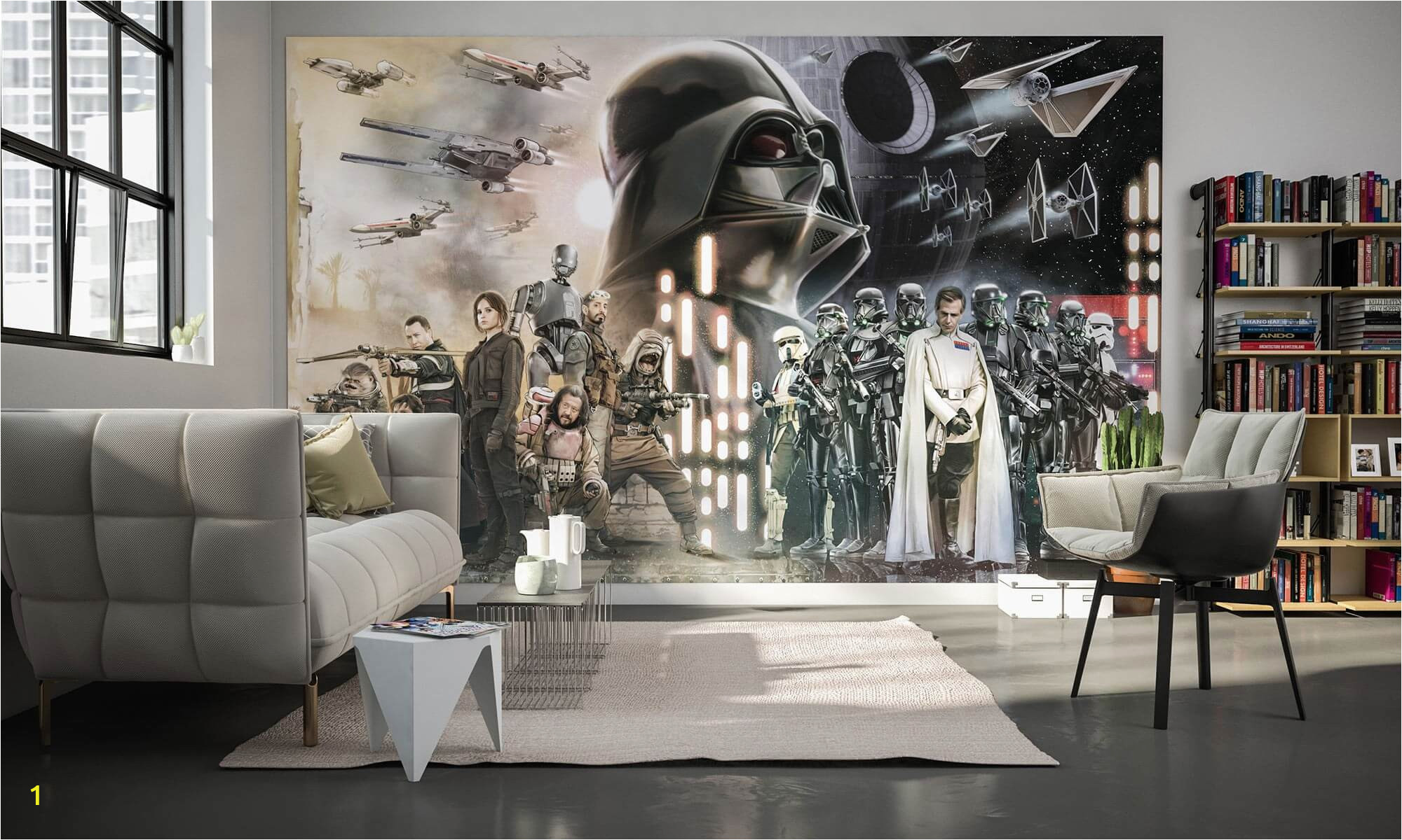 star wars collage fleece wallpaper 1 p